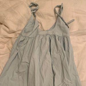Urban outfitters light blue mini dress